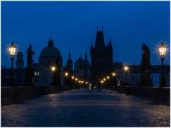 Blaue Stunde auf der Karlsbrücke