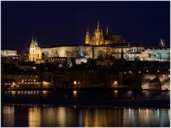 Hradschin und Prager Burg über der Prager Kleinseite
