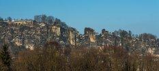 Die Bastei und Basteibrücke