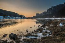 Zwischen Königstein und Bastei