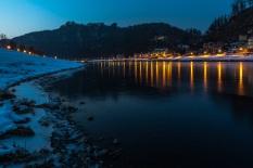 Elbe bei Rathen