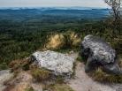 Decinsky Sneznik - Blick nach Norden