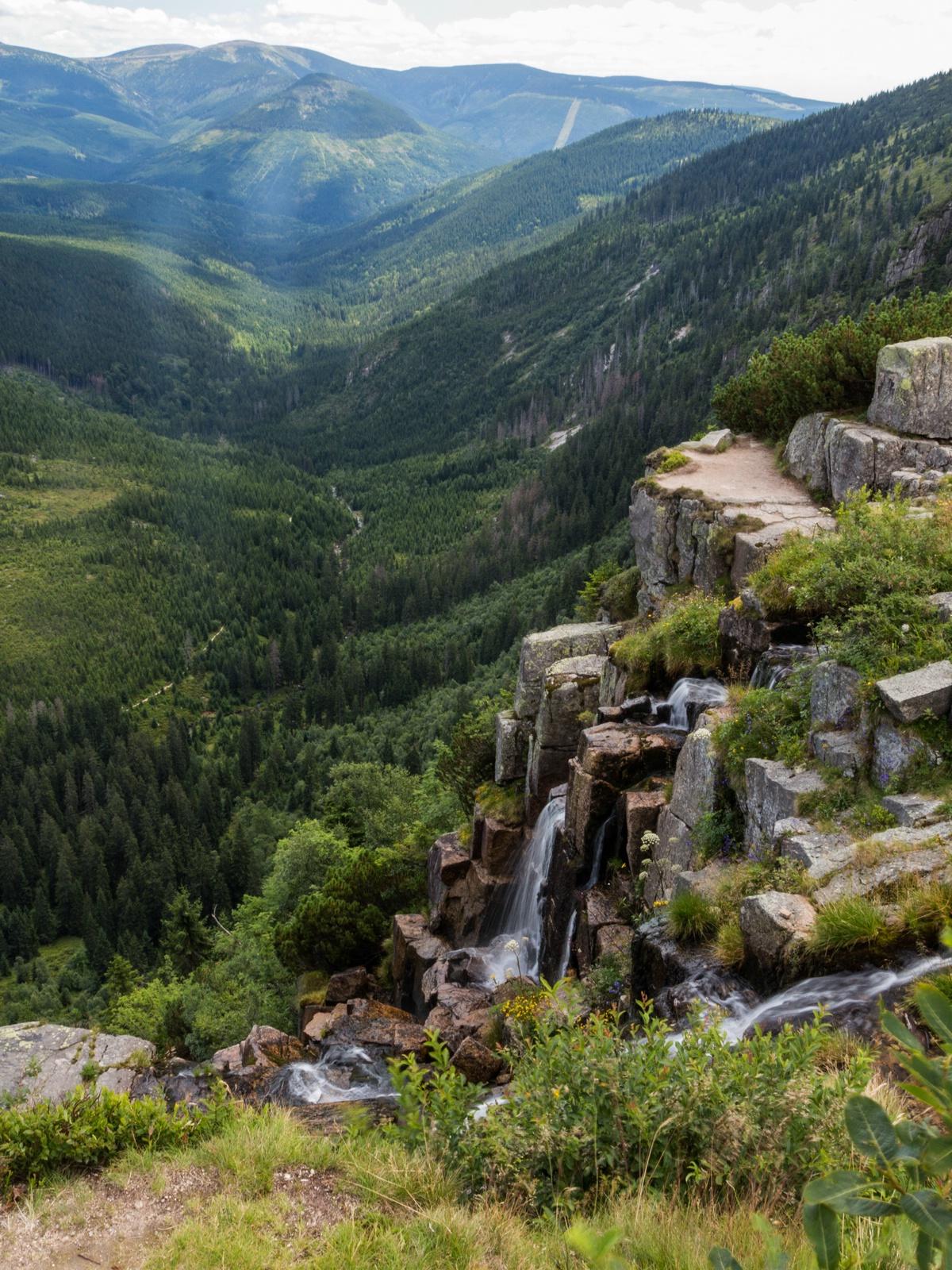Riesengebirge – Pantschefall