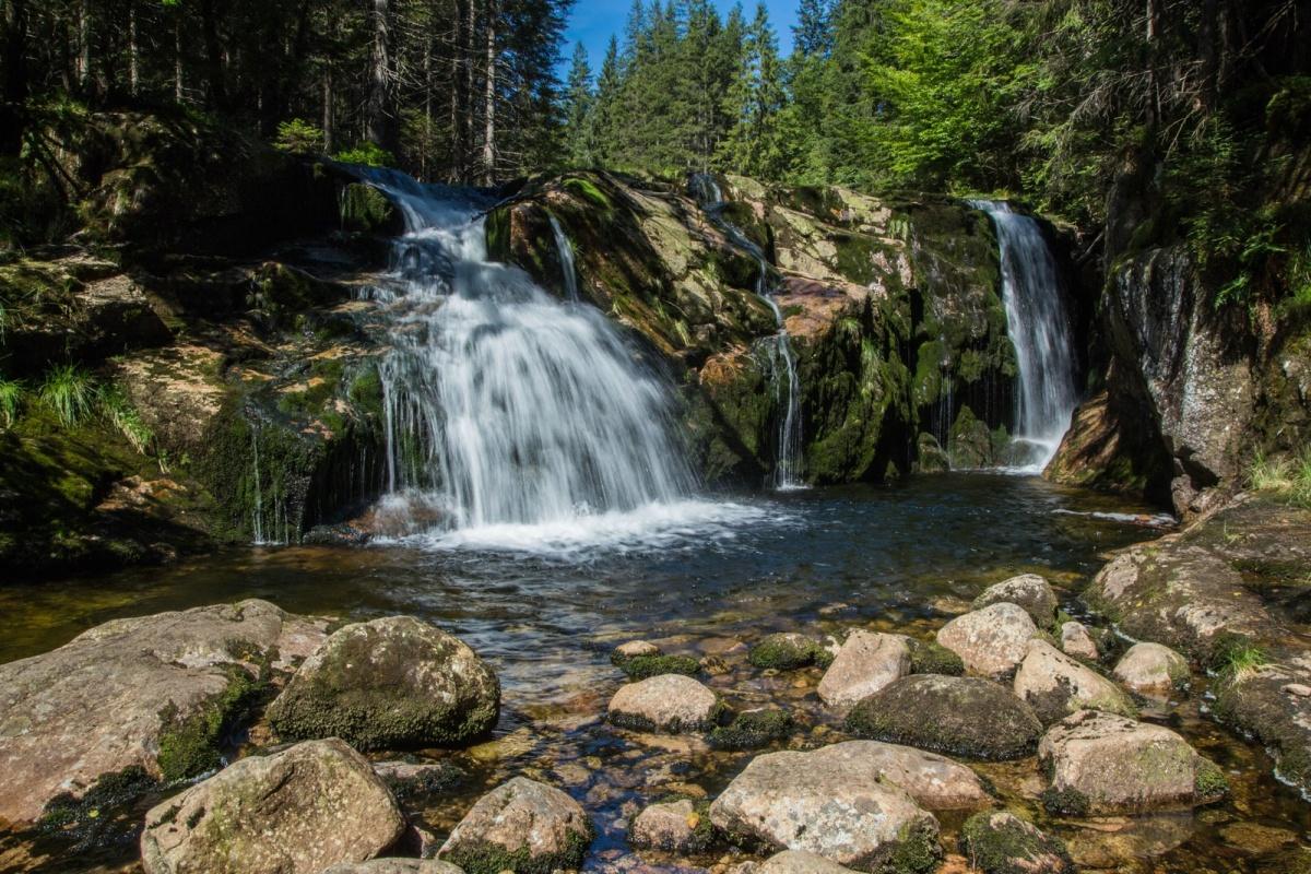 Riesengebirge – Der kleineElbwasserfall