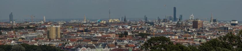 Wien-Panorama von der Gloriette gesehen