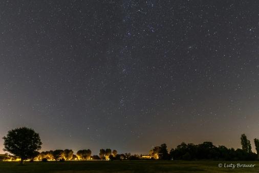 Die Milchstraße, Perseus und Cassiopeia inkl. Andromeda