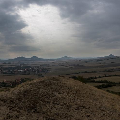 Blick vom Kamyk nach Süden