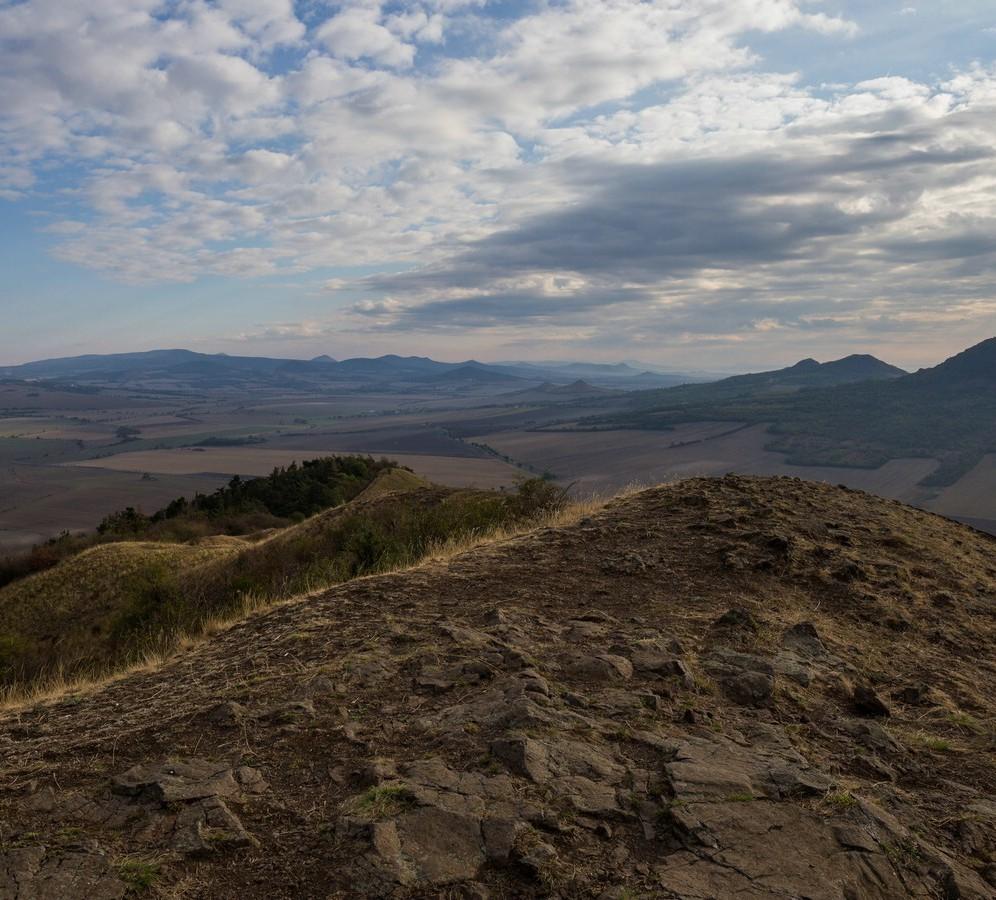 Blick vom Rana nach Nordosten